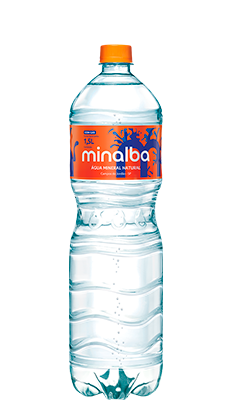 Água Mineral Natural Minalba Com Gás – 1,5l