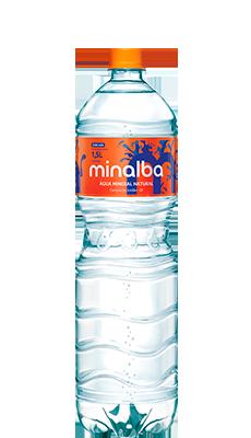 Minalba Natural Mineral Water Carbonated – 1.5l