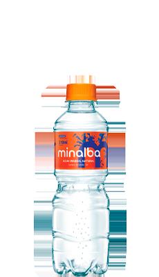 Água Mineral Natural Minalba Com Gás – 310ml