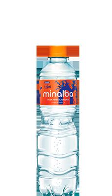 Água Mineral Natural Minalba Com Gás – 510ml