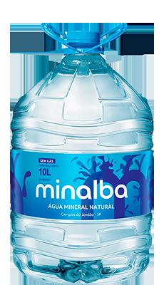 Água Mineral Natural Minalba Sem Gás – 10l