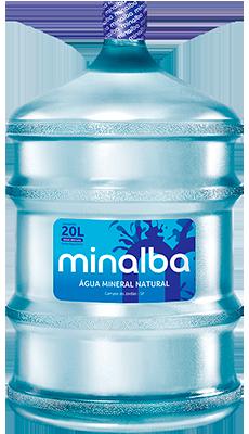 Água Mineral Natural Minalba Sem Gás – 20l Garrafão