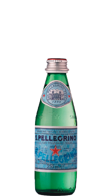 S. Pellegrino Carbonated Natural Mineral Water – 250ml