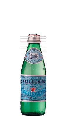 Água Mineral Natural Gaseificada S. Pellegrino – 250ml