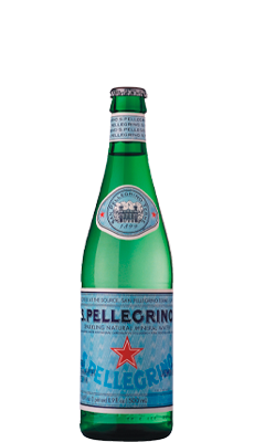 S. Pellegrino Carbonated Natural Mineral Water – 505ml