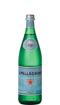 S. Pellegrino Carbonated Natural Mineral Water – 750ml